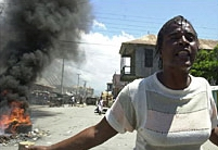 Commotion in Haiti