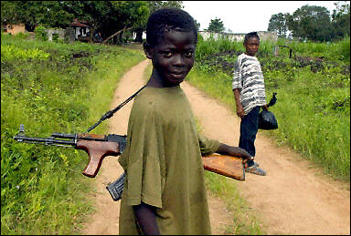 Young Liberian Rebel Fighters (AFP/Issouf Sanogo)