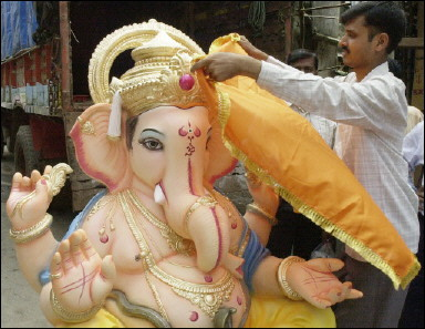 Dismal World | World Tour: Indians Celebrate the Birth of Ganesha